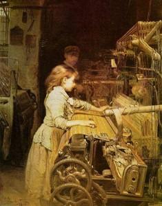 La teixidora, Joan Planella (1882)
