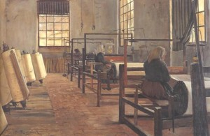 La fàbrica, Santiago Rusiñol