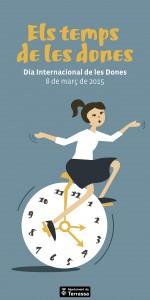 Cartell del Dia de les Dones - Terrassa 2015