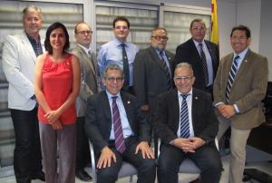Junta de Govern del Col·legi Oficial d'Òptics Optometristes de Catalunya Font: COOOC