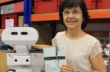 Carme Torras a l'Institut de Robòtica i informàtica industrial